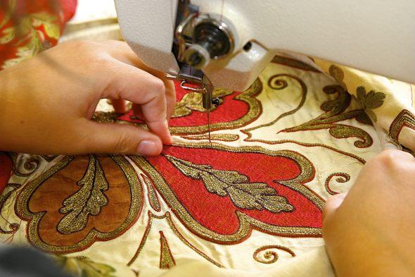 Виды вышивок на вышивальных машинах