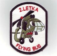 Nášivka 2. letka - Flying bus