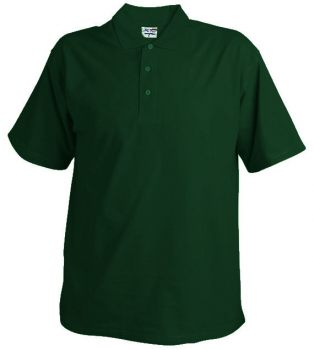 Polo Pique 220 dark green