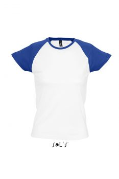 Milky white royal blue A
